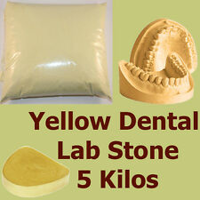 5 kilo, Extra Hard #3 Dental LabStone, Yellow Casting Moulding Stone Plaster