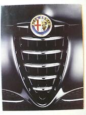 Prospekt Alfa Romeo 147 zur Premiere, Riesenposter auf der Rückseite, 2000,16 S.