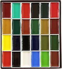KISSHO GANSAI Japanese Watercolor Paint 24 Colors Set  JAPAN