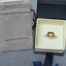 DAVID YURMAN CLASSIC RING NOBLESSE CITRINE WITH 18K GOLD