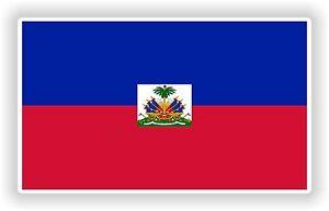 Haiti flag Bandera Sticker Bumper Vinyl Decal bike pegatina car tablet laptop