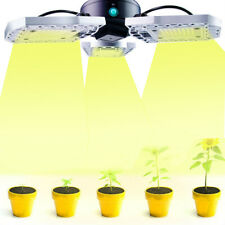 Foldable E27 600W Led Grow Light Full Spectrum Lamp For Hydroponics Plant Flower