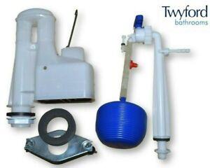 Twyford Close Coupled Bottom Entry Toilet Cistern Kit Flush Valve Float & Plate
