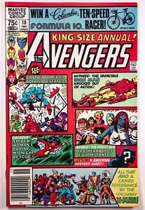 The Avengers King-Size Annual #10 1st appearance Rogue Newsstand Higher Grade