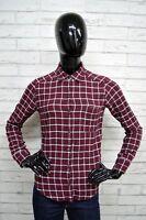 Camicia Donna HOLLISTER Taglia Size XS Maglia Shirt Woman A Quadri Cotone