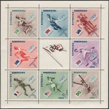 DOMINICA, 1957. Olympic Winners Sheets 479-83, C110-102, perf/imperf,