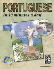 PORTUGUESE in 10 minutes a day with CD-ROM Kershul, Kristine K. Paperback