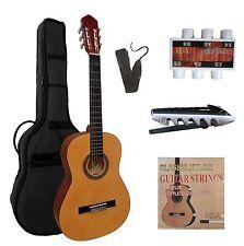 Gitarre- Konzert- Modell 7/8,in verschiedenen Farben, mit Set- Zubehör!n