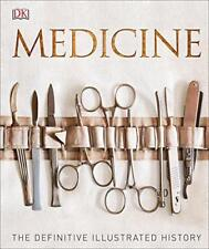 Medicine: The Definitive Illustrated History by DK, NEW Book, (Hardcover) FREE