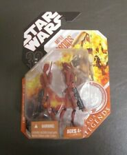 Battle Droids RED Variant 2007 STAR WARS 30th Anniversary Collection MOC