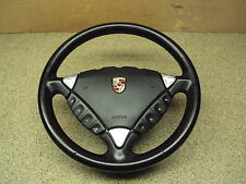 Porsche Cayenne 955 Tiptronic Black Leather Heated Steering Wheel RL03VFD SW