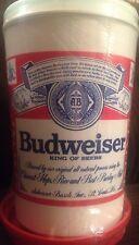 Budweiser Mug Freeze-N-Go Keeps Beer Ice Cold New RARE