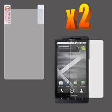2X Clear LCD Screen Protector Motorola Droid X MB810