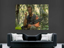 PREDATOR FILM Arnold Schwarzenegger Muro Art Immagine grande POSTER GIGANTE