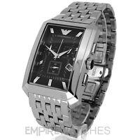 *NEW* MENS EMPORIO ARMANI CHRONOGRAPH STEEL WATCH - AR0474 - RRP £299.00