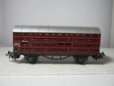 Liliput HO Viehtransportwagen BtrNr 332232 DB (RG/AE/14L40)