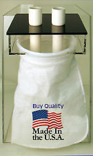 """CPR Pre-Filter Sock Holder 7"""" 2 inlet model w/ one Sock. Hand Crafted in USA"""