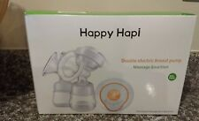 Happy Hapi Double Electric Breast Pump Best Pump Touch Button Usb Led Screen