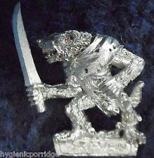 1998 Skaven Slave with Hand Weapon 3 Chaos Ratmen Citadel Warhammer Army Clanrat