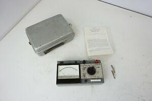 4342 (Ц4342) AVO-METER Tester Multimeter Messgerät USSR Vintage VEB Grimma