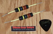 Gibson Les Paul Historic Bumble Bee Capacitor Set R9 Guitar Parts R8 Reissue R7