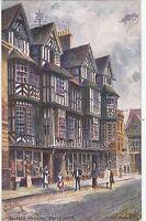 Artist Drawn, Ireland's Mansion, SHREWSBURY, Shropshire - Tuck Oilette