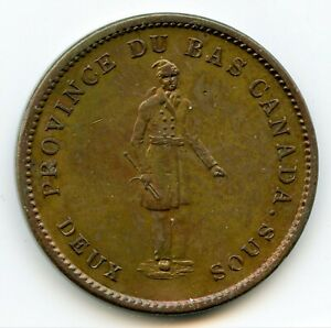 Breton 521, 1837 City Bank, One Penny Token - CH LC-9A3, Courteau 10a ICCS AU-55