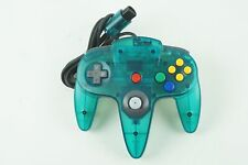 Nintendo 64 Clear Blue Controller N64 From Japan