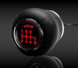 ALFA Romeo    SPEED SHIFT GEAR KNOB RED LED ILLUMINATED  166 159 147 156 GT