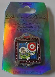 Disney DLR Diamant Decades Collection Toy Story Midway Manie Broche