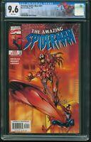 AMAZING SPIDER-MAN # 431 FEBRUARY 1998 CGC-GRADED 9.6 NEAR MINT+ ITEM: G-51