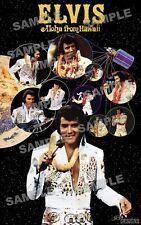 Elvis Presley Aloha FAN MADE 11 X 17 poster print