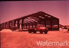 1960 35mm photo slide Wadi Essir Amman Jordan Construction  Truck