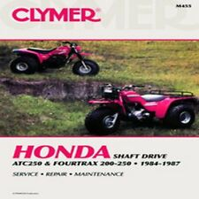 CLYMER REPAIR MANUAL Fits: Honda TRX200 FourTrax,ATC250ES Big Red,ATC250SX,TRX25