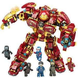 Marvel Iron Man 76105 The Hulkbuster Ultron Edition Avengers Mark Toy fit legoo