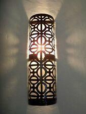 applique murale Marocaine géante fer forgé lampe lustre lanterne 52 cm orientale