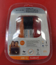 NEW Belkin USB 2.0 and FireWire ExpressCard