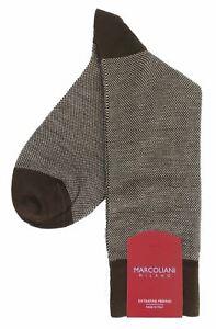 Marcoliani 4060 Extra Fine Merino Birdseye Dress Socks
