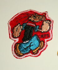 Vintage Campy Popeye The Sailor Running Patch unused NOS NEW KFS 1970s