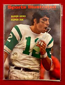 Sports Illustrated January 20,1969 Joe Namath NY JETS Super Bowl III NEWSSTAND