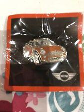 BMW Mini convertible pin badge Brand New Sealed In Bag Original MINI Merchandise