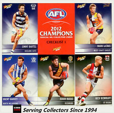2012 Select AFL Champions Trading Cards Full Base Card Set (220)