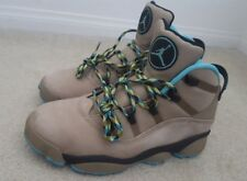 Nike Air Jordan 6 Rings Winterized men's size 9 preowned suede maize gamma blue