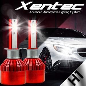 XENTEC H1 LED High Beam Conversion Kit 388W CREE 6000K 6K White Light Bulbs