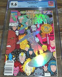 Silver Surfer #75 CGC 9.6 (12/92) Marvel Comics Embossed Silver Foil Cover