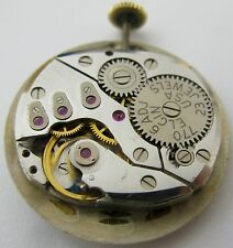 Elgin 770 23 jewels 6 adj. watch movement for parts .