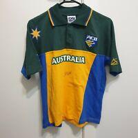 Australia Cricket Jersey Signed by Glenn McGrath