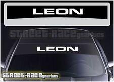 SS2202 Seat Leon sunstrip graphics stickers decals windscreen Cupra FR Sport
