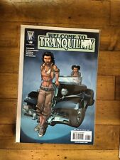 WS Wildstorm Welcome To Tranquility #8 Unread Condition