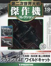 DeAgostini WW2 Aircraft Collection Vo18 fighter 1/72 Grumman F4F Wildcat